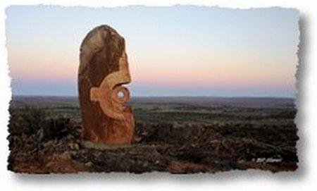 sunrise at Broken Hill